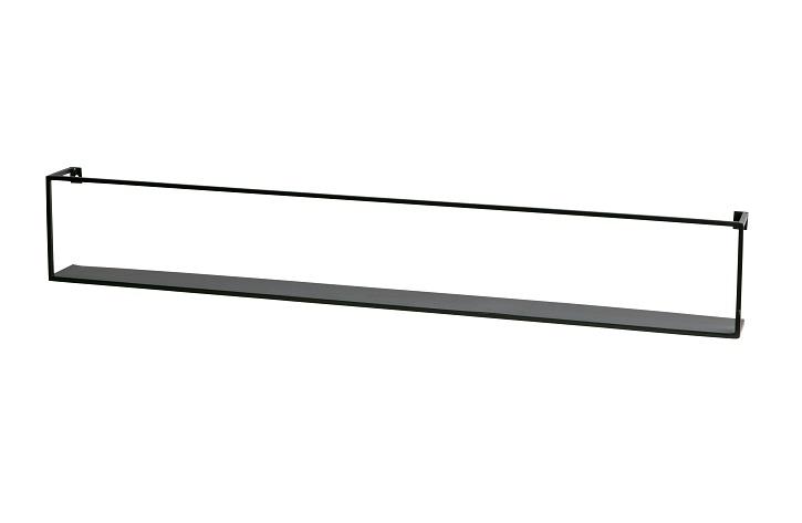 Wandplank Zwart Metaal Hout.Wand En Tijdschriftrekken Meert Wandplank Metaal Groot