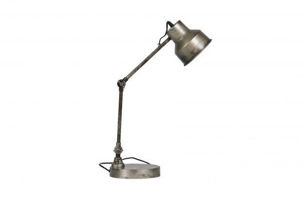 Slaapkamer: Hector Staande Lamp Metaal Antique Zilver