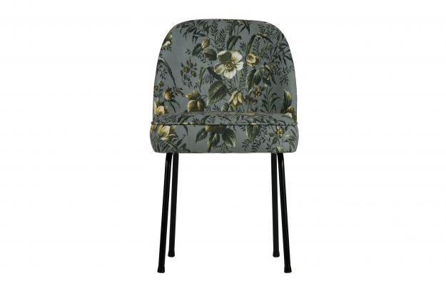 Eetkamer stoelen vogue eetkamerstoel fluweel poppy grijs