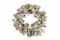 "oesterkrans Krans rond ""Oyster Talaba"" off-white"
