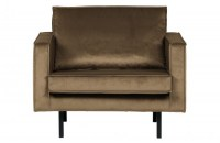 Rodeo Fauteuil Velvet Taupe bepurehome