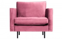 Rodeo Classic Fauteuil Velvet Pink